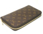 Louis Vuitton 激安 ルイヴィトン 新品 モノグラム 財布 ジッピー M60002