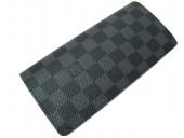 Louis Vuitton 激安 ルイヴィトン 新品 ダミエ・グラフィット 財布 ファスナー付き二つ折り長札 ポルトフォイユ・ブラザ N62665