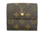 Louis Vuitton 激安 ルイヴィトン 新品 モノグラム Wホック財布 ポルトフォイユ・エリーズ M61654