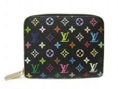 Louis Vuitton 激安 ルイヴィトン 新品 モノグラム・マルチカラー 財布 コインケース カードケース ジッピー・コインパース ノワール M66549