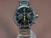 ルイヴィトン 新作 人気 新品 通販&送料込 Louis Vuitton 激安 Tambour Chronograph SS Brown Asia 7750腕時計 J-LV0024