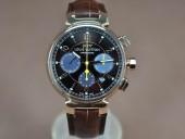 ルイヴィトン 新作 人気 新品 通販&送料込Louis Vuitton 激安 Tambour Chronograph SS/LE Brown Asia 7750 28800腕時計