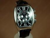 フランクミュラー 新作&送料込 Franck Muller Watches Casablanca Chronograph Movement RG Case With Black Dial  J-FN0061