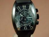 フランクミュラー 新作&送料込Franck Muller Casablanca Chrono PVD/LE Black A-7750脕時計 J-FN0064