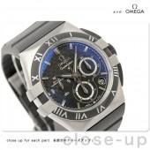 オメガ 腕時計 OMEGA コンステレーション ダブルイーグル 腕時計 自動巻き ブラック 121-92-35-50-01-001