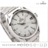 オメガ 腕時計 &送料込 OMEGA シーマスター アクアテラ コーアクシャル メンズ 腕時計 デイト 自動巻き シルバー231.10.39.21.02.001