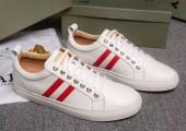 BALLY 新作 新品同様超美品 通販&送料込 バリー 運動靴 男性用 BAL007