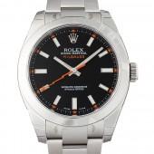 ロレックス 腕時計 ミルガウス 116400 ブラック メンズ