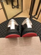 グッチ カジュアルシューズ 新作 本革 通販&送料込 運動靴 男性用 LF1114