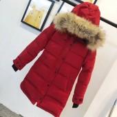 カナダグース レディース 赤色 新作&送料込人気 婦人服 ダウンジャケット canadagoose028