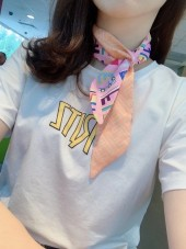 FENDI 絹リボン 新作&送料込 wj016