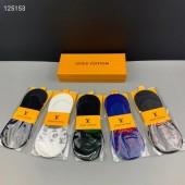 ルイヴィトン 靴下 1箱の5組新作 新品同様超美品 通販&送料込 WZ002